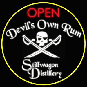 Custom Stillwagon Distillery Neon Sign