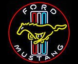 Ford Mustang Neon Sign - 4 Sizes Available