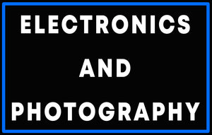 Custom Electronics and Photography Neon Sign