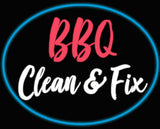 Custom BBQ Clean & Fix Neon Sign