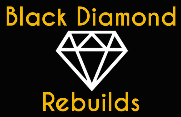 Custom Black Diamond Rebuilds Neon Sign