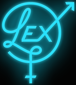 Custom Lex Logo Neon Sign