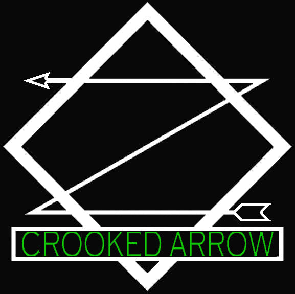Custom Crooked Arrow Neon Sign