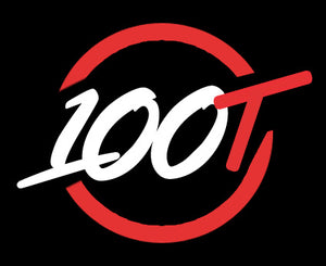 Custom 100T Logo Neon Sign