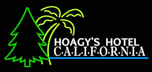 Custom Hoagy's Hotel Neon Sign