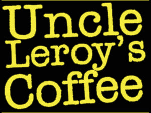 Custom Uncle Leroy's Coffee Neon Sign