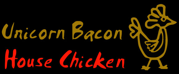 Custom Unicorn Bacon House Chicken Neon sign