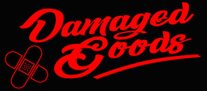Custom Damaged Goods Neon Sign