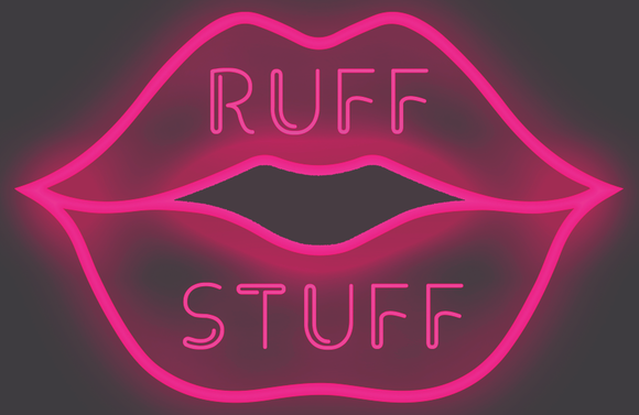 Custom RUFF STUFF Neon Sign