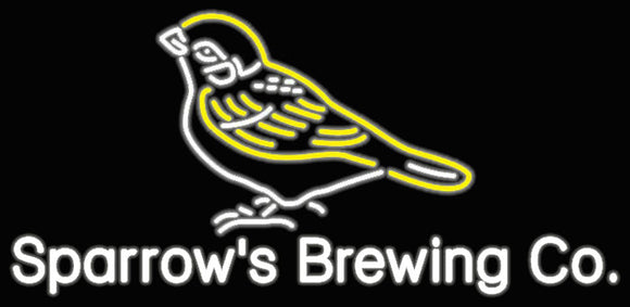 Sparrow's Brewing Co. Neon Sign