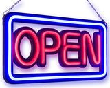 Open LED Neon Sign Horizontal & Vertical Designs