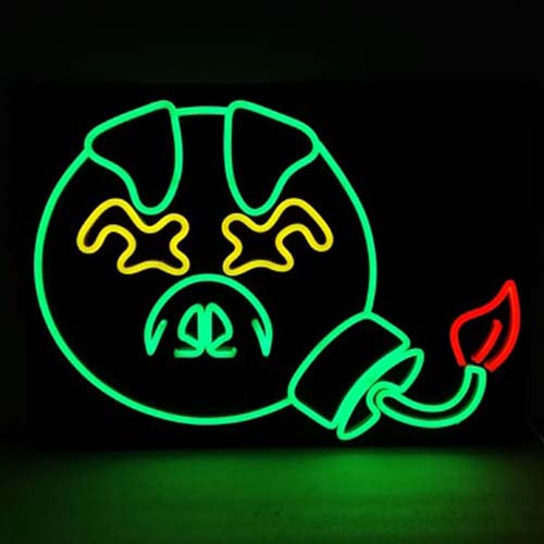 Pig Face Neon Sign