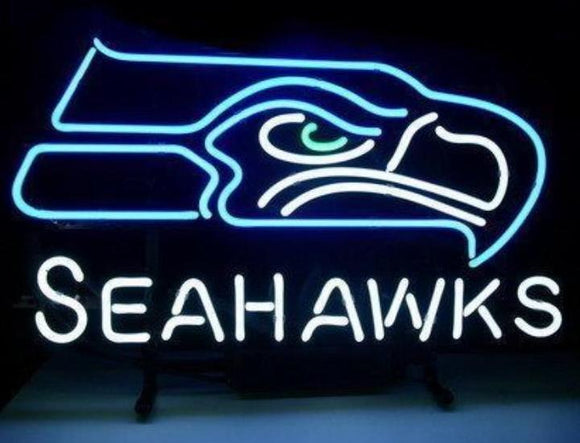 Seattle Seahawks Neon Sign - Can Be Customized
