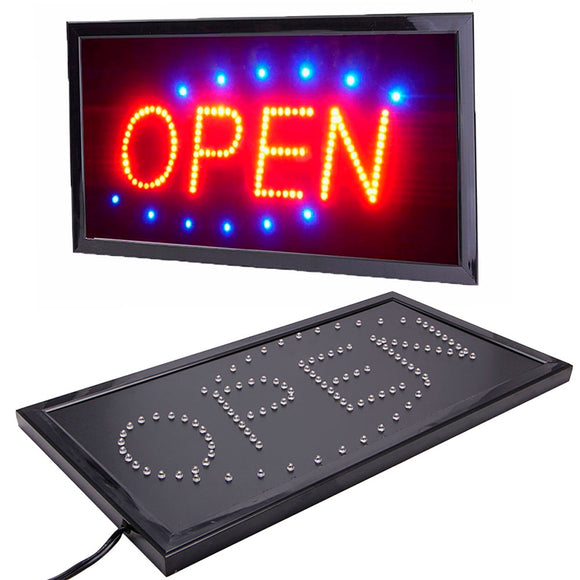 Small Bright Animated Neon LED Open Sign