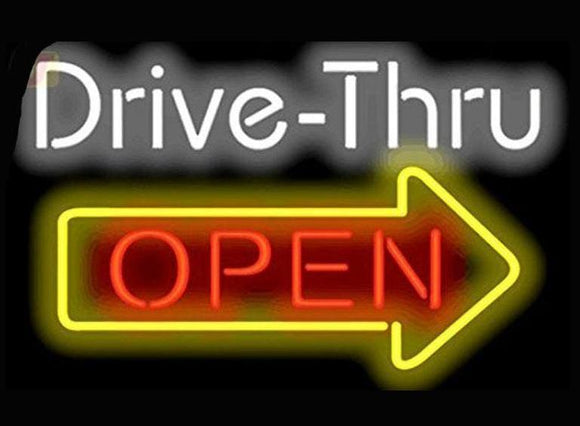 Drive-Thru Open Sign
