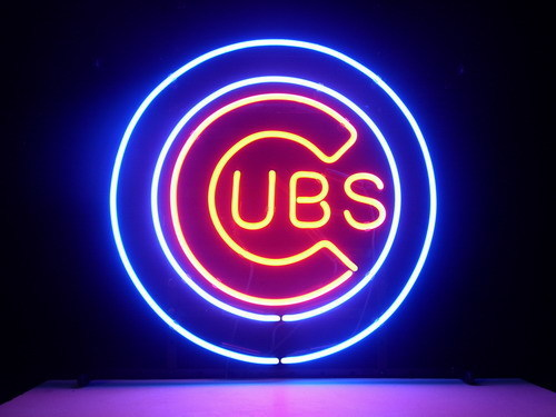 Chicago Cubs Neon Sign