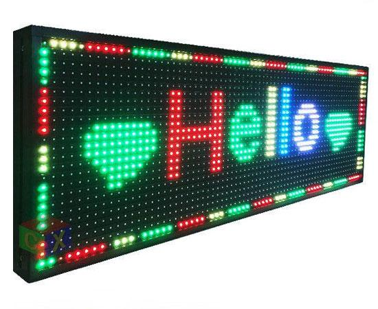 programmable outdoor led sign 26 x 8 neonsignly com