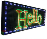 Programmable Outdoor Led Sign 53 X 15 Neonsignly.com