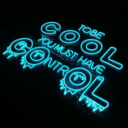 Too Cool Neon Sign