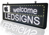 Programmable Outdoor LED Sign