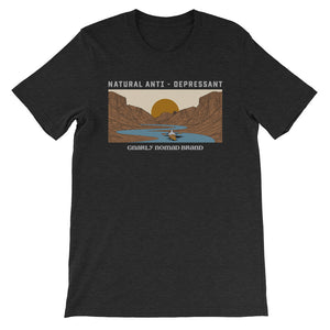 Natural Anti-Depressant Kayak Tee