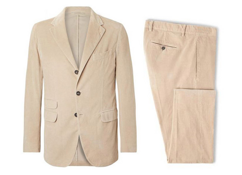 Shop 007 sand suit at Riada Concept Massimo Alba stockist Australia. Luxury Fashion Boutique