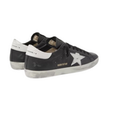 Woollahra Sydney Australia Online Luxury Fashion Boutique Golden Goose Superstar Distressed Leather Sneakers in Black