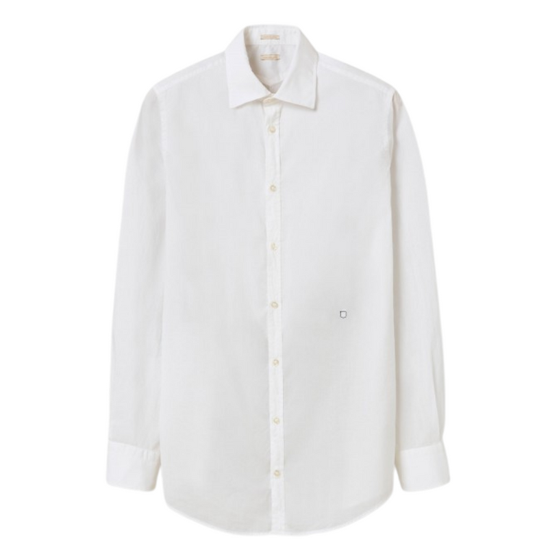 Massimo Alba Men's White Genova Shirt Riada Concept Woollahra Sydney Online Australia Luxury Fashion Boutique