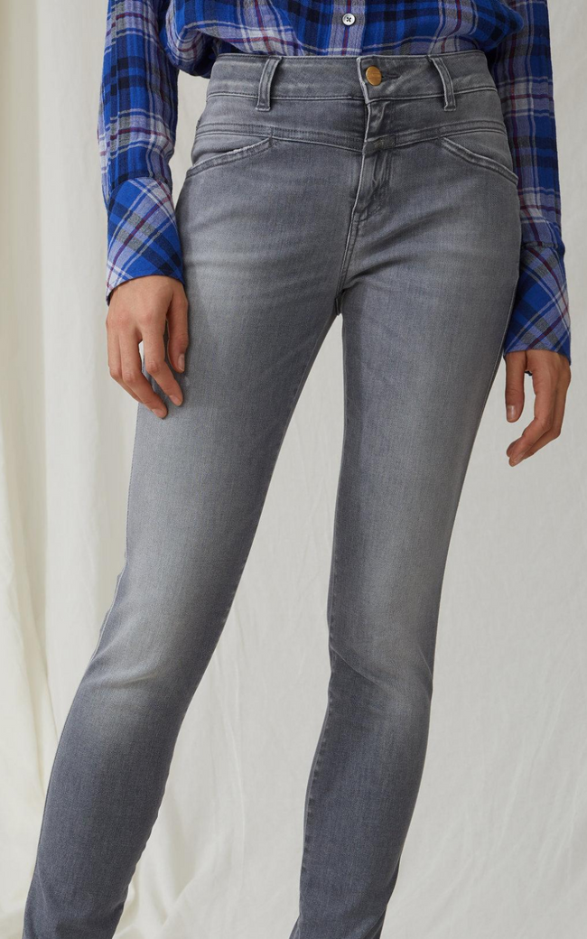 Closed Denim Stacey X Grey Denim Jeans Online Australia