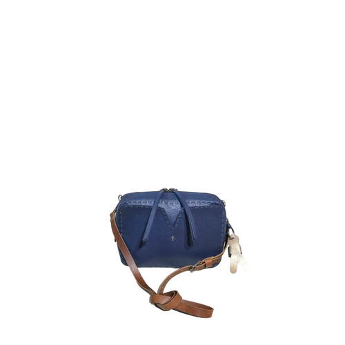 Henry Beguelin BD4232 Crystal Bag in Navy