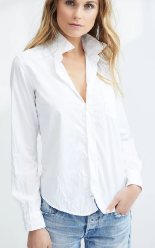 Frank & Eileen Barry White Signature Crinkle Shirt