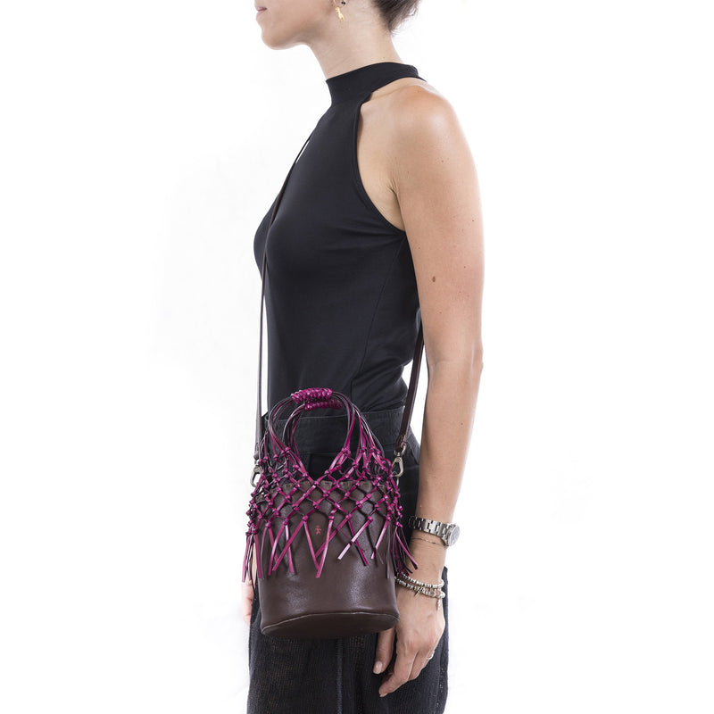 Henry Beguelin Nodi Little Bag in Tomorrow BD4338 Henry Beguelin stockist Australia Riada Concept Luxury fashion Boutique
