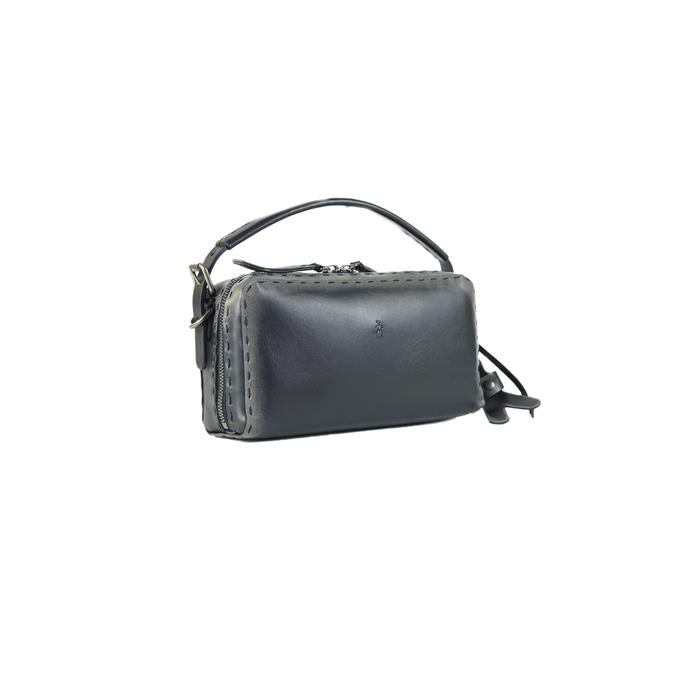 Henry Beguelin Small Box Bag in Black Online Australia Riada Concept Sydney Woollahra Luxury fashion boutique