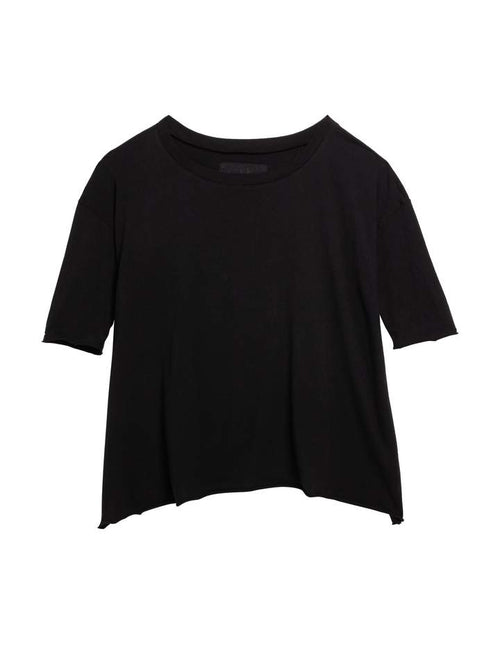 Frank & Eileen Essential Jersey French Tee in Black Stockist Woollahra Riada Concept online Australia