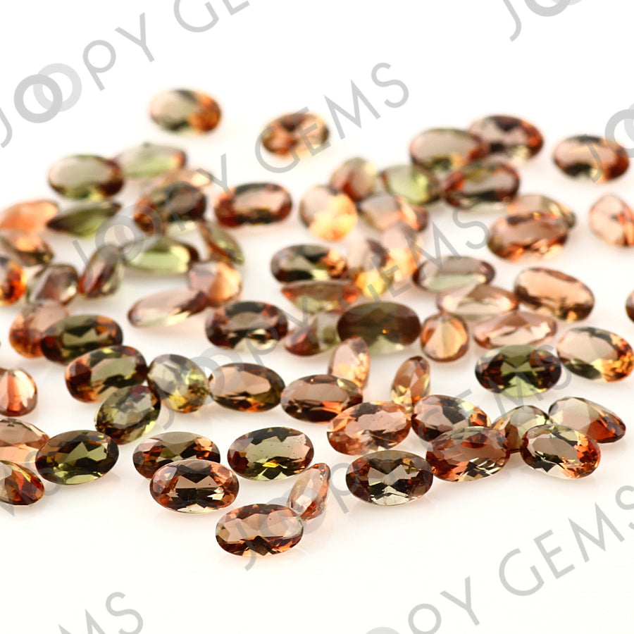 Joopy Gems Andalusite Mixed Cut Gemstone 3x5mm Oval