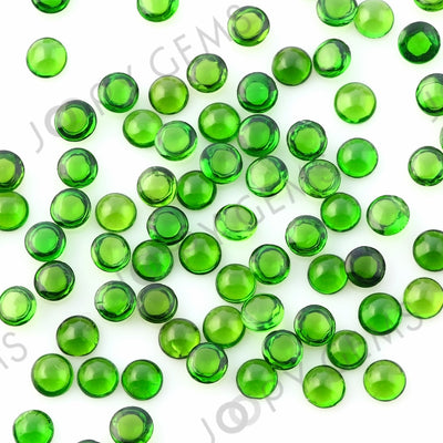 Joopy Gems Chrome Diopside Cabochon 4mm Round