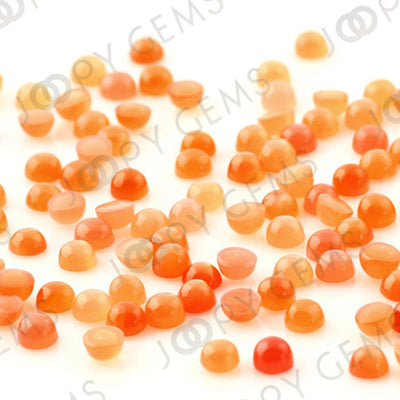 Joopy Gems Peach Moonstone Cabochon 4mm Round