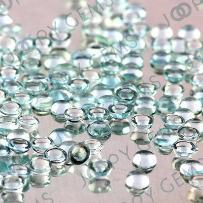 Joopy Gems Aquamarine (clean) Cabochon 4mm Round