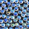 Joopy Gems Rainbow Moonstone Rose Cut Cabochon 5mm Round - AA grade