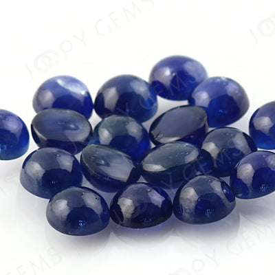Joopy Gems Blue Sapphire Cabochon 5mm Round