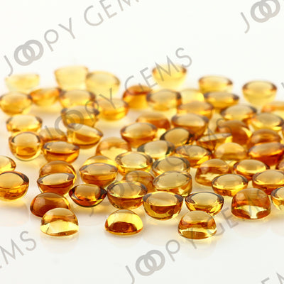 Joopy Gems Citrine Cabochon 6mm Round
