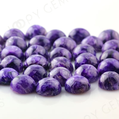 Joopy Gems Charoite Cabochon 10mm Round