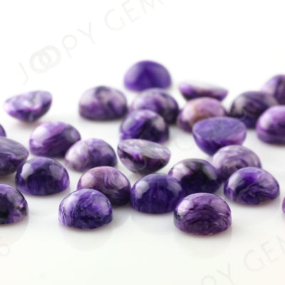 Joopy Gems Charoite Cabochon 8mm Round