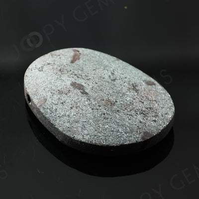Joopy Gems Specularite Freesize Oval Bead/Slice, 112.64 carats, 37.8x26.3x8.2mm, CFRSPEC13
