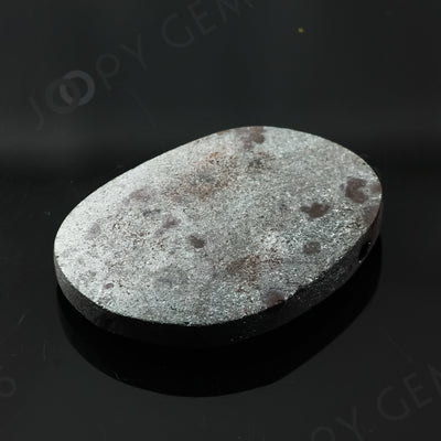 Joopy Gems Specularite Freesize Oval Bead/Slice, 112.64 carats, 37.8x26.3x8.2mm, CFRSPEC14
