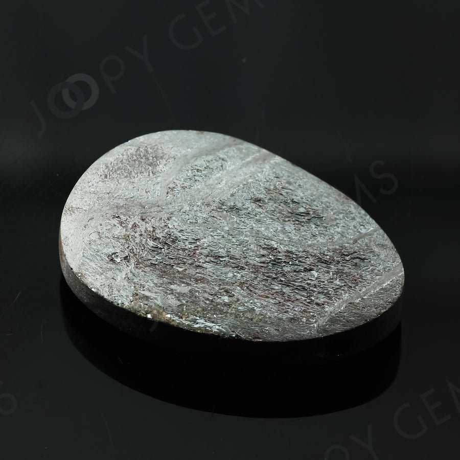 Joopy Gems Specularite Freesize Oval Bead/Slice, 116.45 carats, 36.8x26.7x8.1mm, CFRSPEC12
