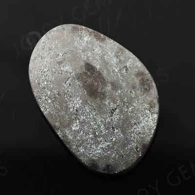 Joopy Gems Specularite Freesize Oval Bead/Slice, 128.36 carats, 37.2x26.1x9.5mm, CFRSPEC13