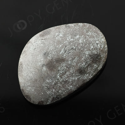 Joopy Gems Specularite Freesize Oval Bead/Slice, 128.36 carats, 37.2x26.1x9.5mm, CFRSPEC14