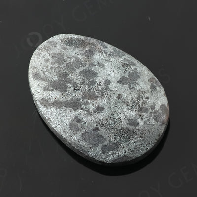 Joopy Gems Specularite Freesize Oval Bead/Slice, 123.055 carats, 37.6x26.8x9.5mm, CFRSPEC3