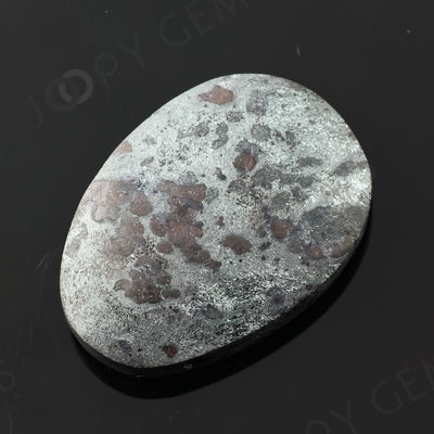 Joopy Gems Specularite Freesize Oval Bead/Slice, 109.915 carats, 38.7x23.2x8.7mm, CFRSPEC9
